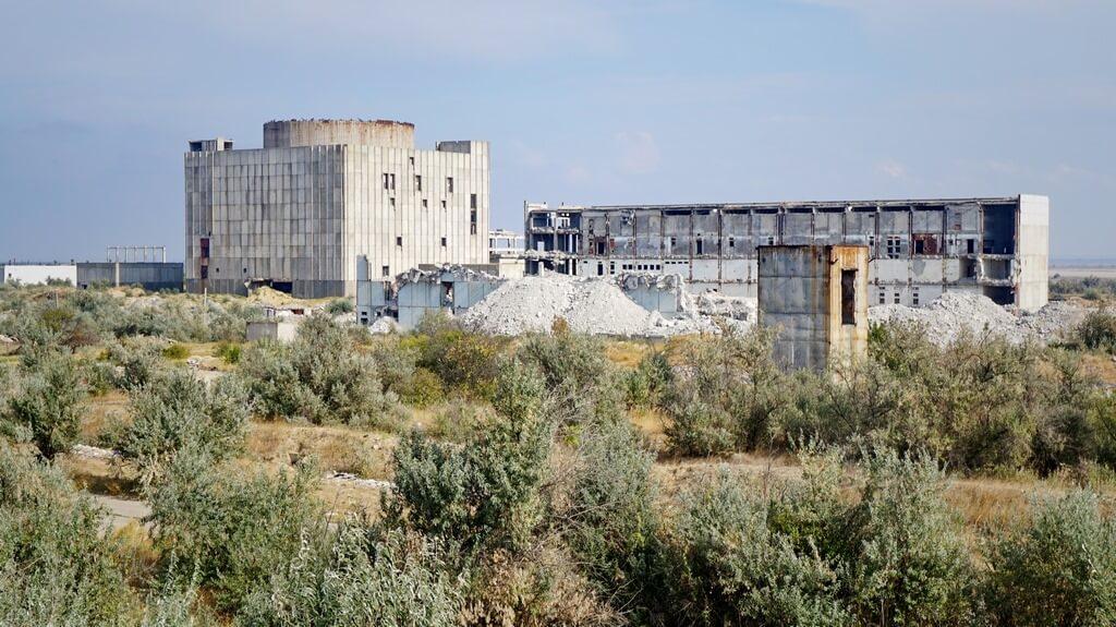 Руины Крымской АЭС