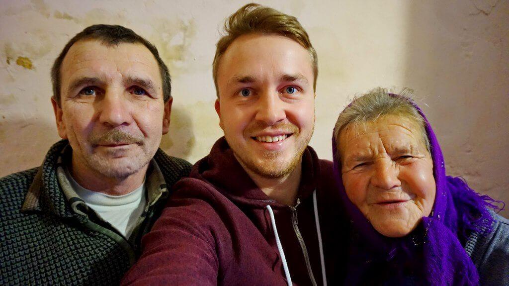 Мы с бабушкой и дядей