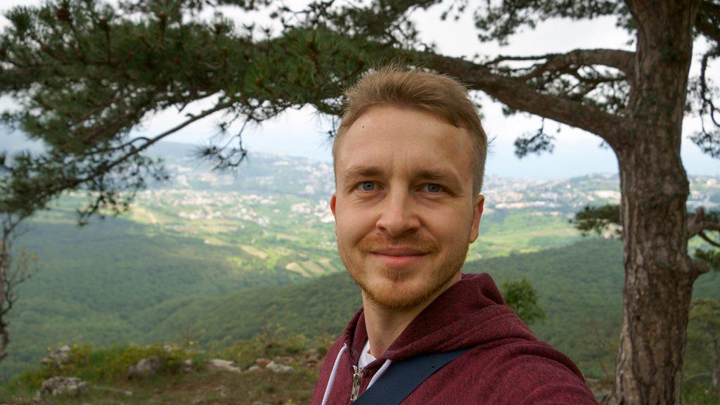 Олег Стонко в Ущелье Темиар